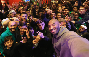 Kobe Bryant in London