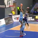 Josh Steel Catches Trailing Body on the Break! Hoopsfix BBL Top 10 Plays – Week 8