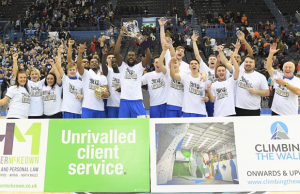 Cheshire Phoenix 2018 BBL Cup Champions