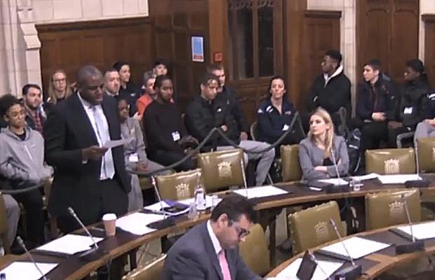 British Basketball Parliament Debate