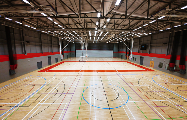Essex Sport Arena Basketball