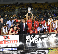 Leicester Riders 2018 BBL Trophy Champions