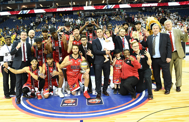 Leicester Riders 2018 BBL Play-Off Champions