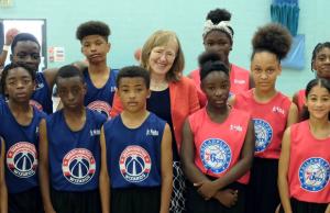 Clare Wardle Basketball England