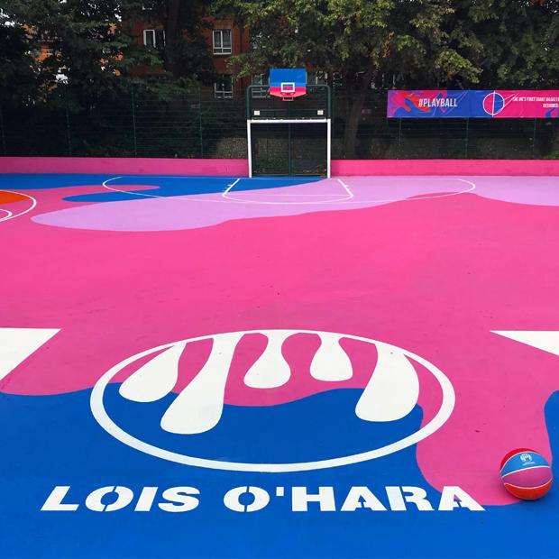 Lois O'Hara Basketball Court