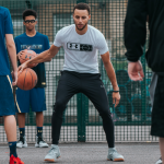 Steph Curry Visits London with Under Armour & London Thunder