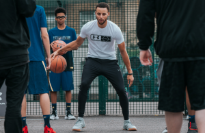 Steph Curry in London