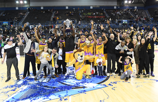 London Lions BBL Cup Champions