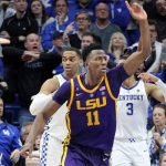 Bigby-Williams Tips in Winner at Buzzer as LSU Topple #5 Kentucky
