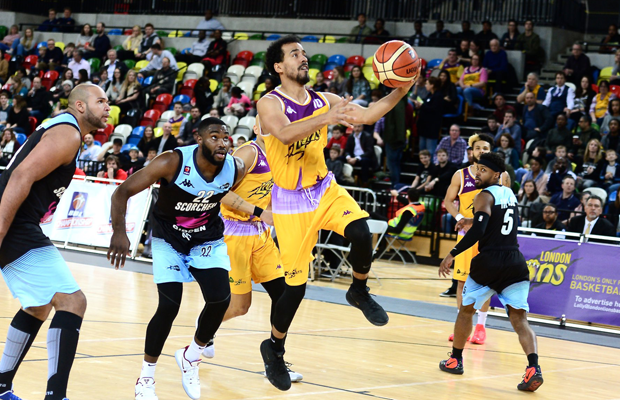 Justin Robinson, London Lions