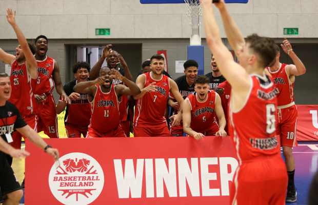 Liverpool 2019 NBL D2 Playoff Champions