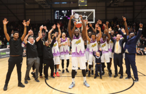 Londons Lions BBL League Title 2019