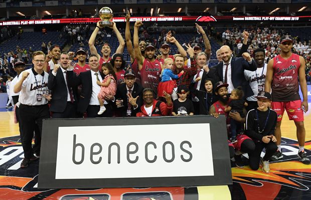 Leicester Riders BBL Playoff Champions 2019