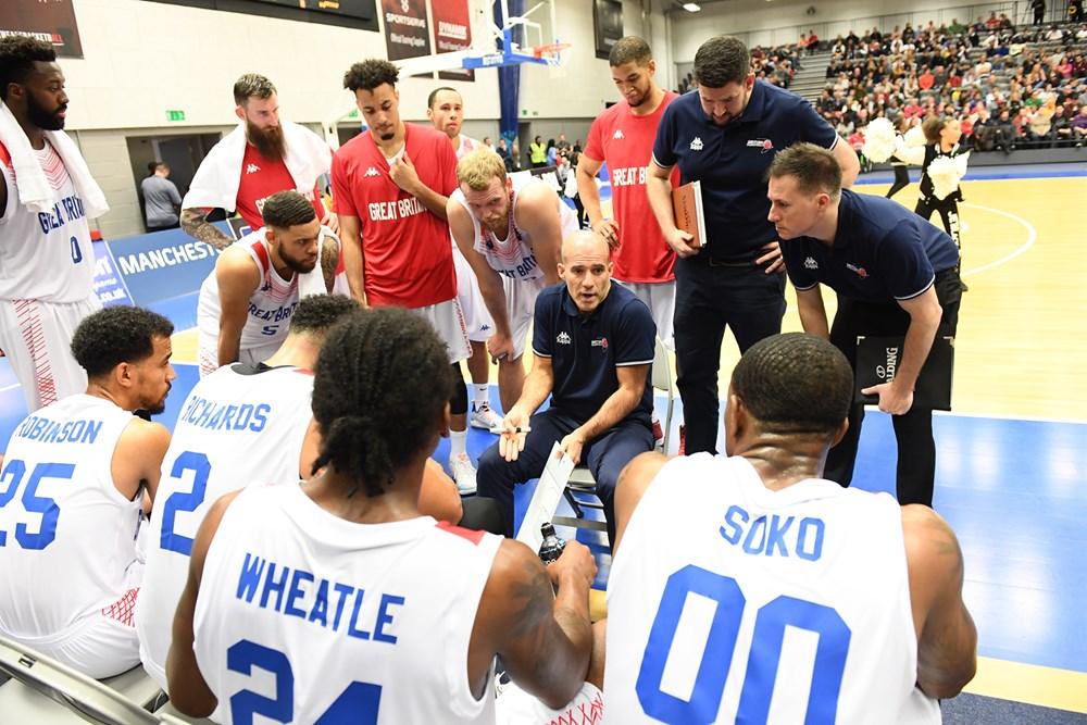 GB Senior Men Handed Tough Draw In Quest For EuroBasket