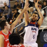 Luke Nelson Makes Basketball Champions League Debut After Joining Manresa