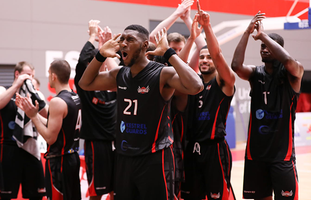 Team Solent Kestrels cruise to NBL D1 Playoff title to complete sweep