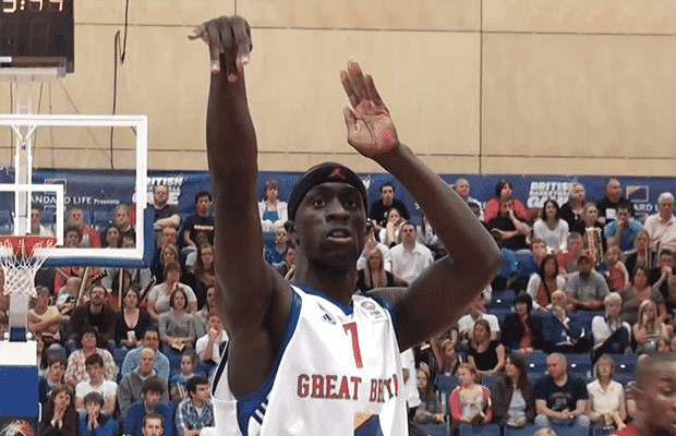Pops Mensah-Bonsu GB v Macedonia 2010
