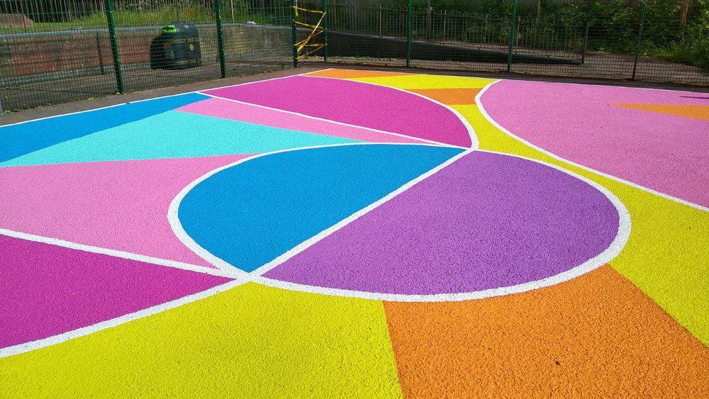 art basketball court east london