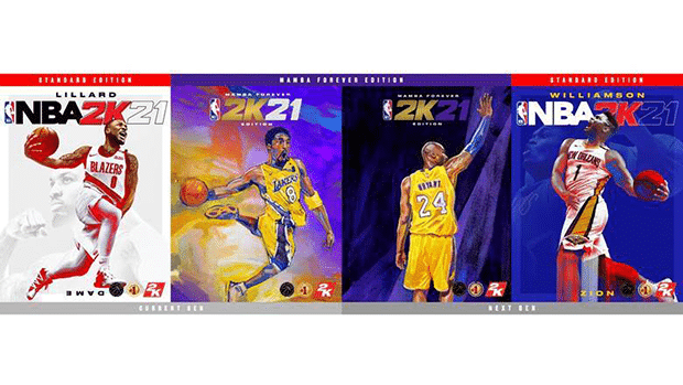 NBA 2K21 Covers