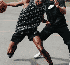 Basketball at Clapham Common