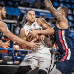 GB Senior Men locked down by France