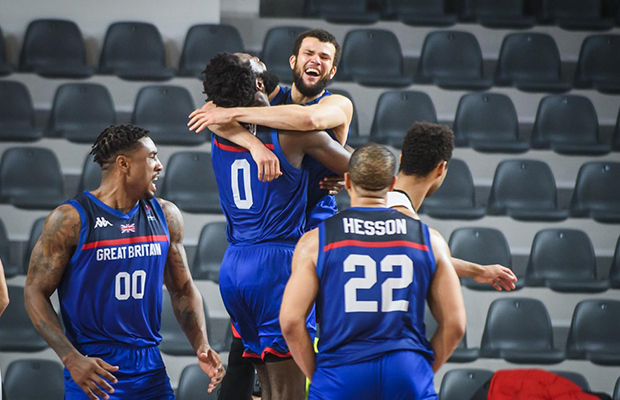Luke Nelson's game-winner puts GB on verge of EuroBasket 2022