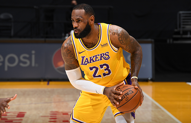 LeBron James Lakers UK Merchandise Sales