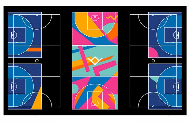 Writtle University 3x3 Basketball Courts