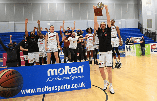 Leicester Riders 2021 BBL League Champions