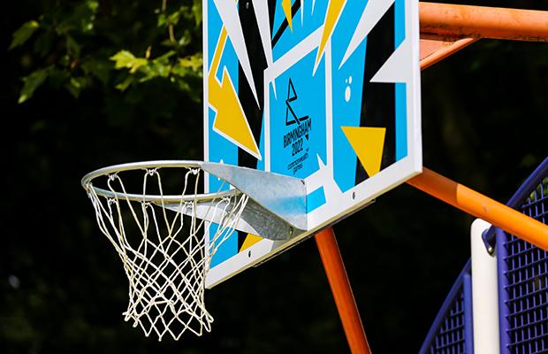 Art design basketball hoop