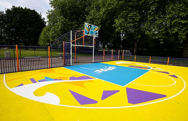 Summerfields Basketball Court Design