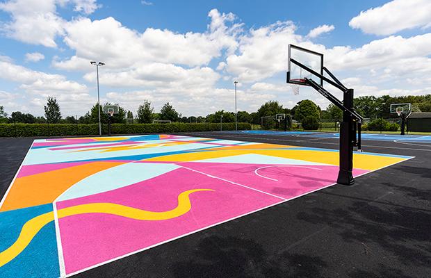 3x3 Basketball Courts