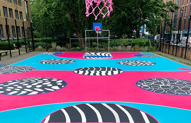 Joseph Grimaldi Basketball Court