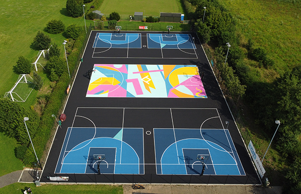 Writtle College 3x3 Basketball Courts