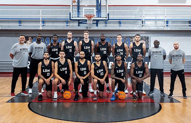 London Lions Basketball Champions League Qualifying 2021