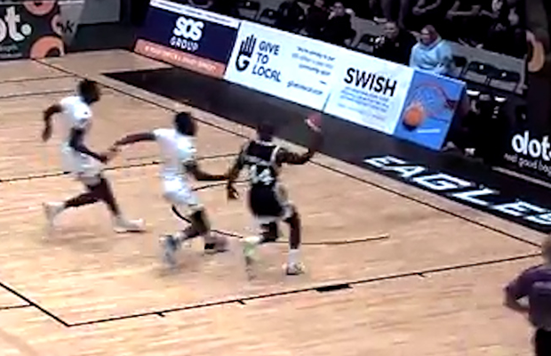 Rahmon Fletcher goes over the shoulder on the dime! BBL Top 10 Plays – Week 1